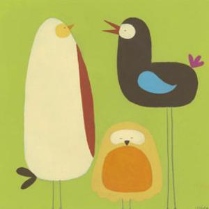 Feathered Friends II by Erica J^ Vess