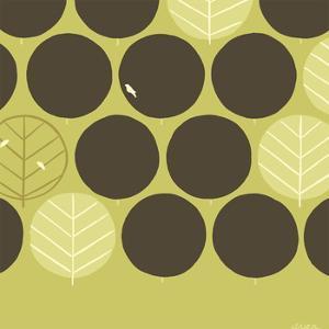 Forest Motif II by Erica J^ Vess