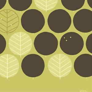 Forest Motif III by Erica J^ Vess