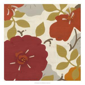 Hibiscus Fresco I by Erica J^ Vess
