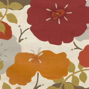 Hibiscus Fresco II by Erica J^ Vess