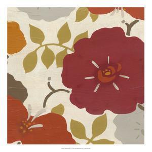 Hibiscus Fresco IV by Erica J^ Vess