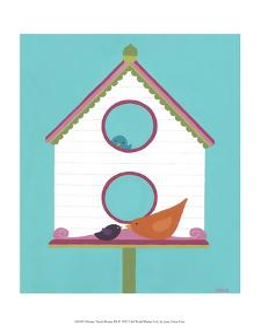Home Tweet Home III by Erica J^ Vess