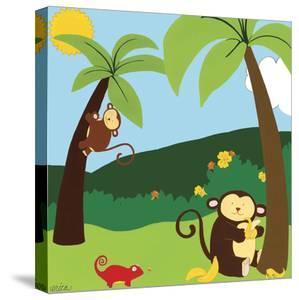 Jungle Jamboree II by Erica J^ Vess