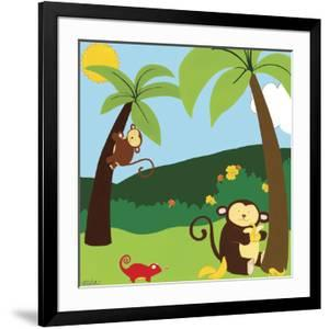 Jungle Jamboree II by Erica J. Vess