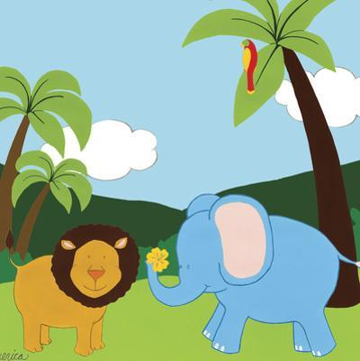 Jungle Jamboree IV by Erica J. Vess
