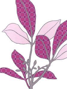 Modern Foliage III by Erica J. Vess