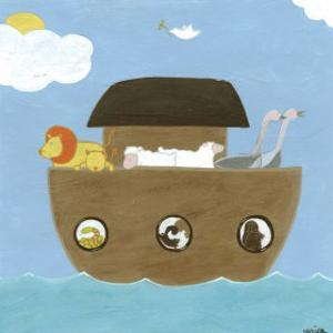 Noah's Ark II by Erica J^ Vess