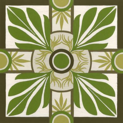 Non-Embellished Palm Motif I by Erica J. Vess