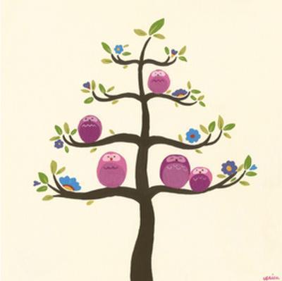 Orchard Owls V by Erica J. Vess