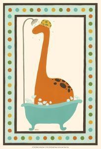 Rub-A-Dub Dino I by Erica J. Vess