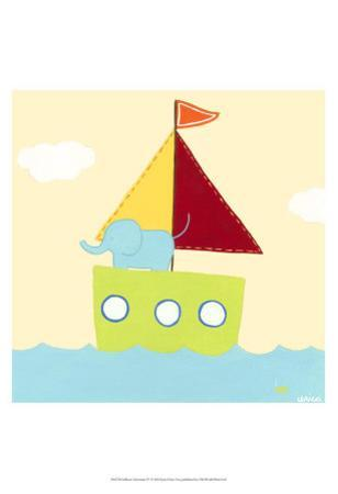 Sailboat Adventure IV by Erica J^ Vess