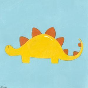 Stegosaurus by Erica J^ Vess