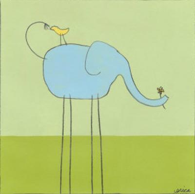 Stick-leg Elephant I