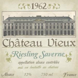 Vintage Wine Labels VII by Erica J. Vess