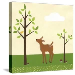 Woodland Friends II by Erica J^ Vess