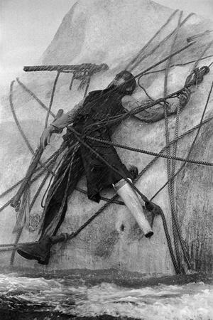 "John Huston's film "" Moby Dick"" ,1954."
