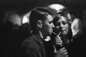 Young Berliners in a nightclub,1960. by Erich Lessing