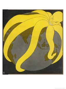 """The Japanese """"Yellow Peril"""", a Paranoid Comment on Japan's Expansionism by Erich Schilling"""