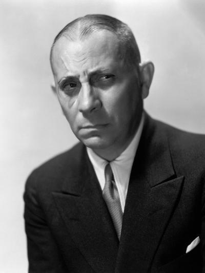 Erich Von Stroheim, 1931--Photographic Print