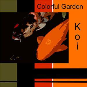 Colorful Garden Koi by erichan