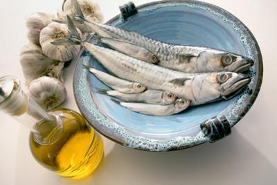 Plate of Mackerel by Erika Craddock