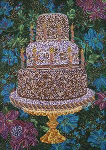 Birthday Cake by Erika Pochybova