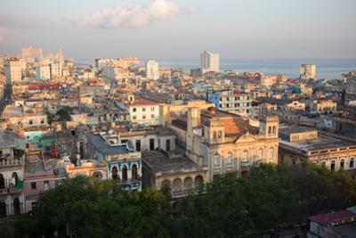 Sunrise over Havana, Cuba by Erika Skogg
