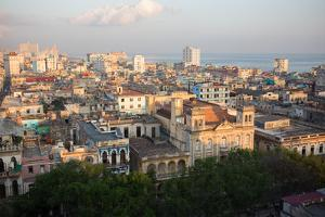 Sunrise over Havana, Cuba by Erika Skogg