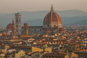 Sunrise over the Duomo and Florence Cathedral by Erika Skogg