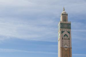 The World's Tallest Minaret at the Hassan Ii Mosque by Erika Skogg