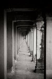 Angkor Wat Walkway II by Erin Berzel