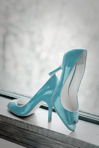 Blue Heels by Erin Berzel