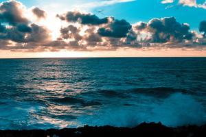 Depoe Bay Sunset I by Erin Berzel