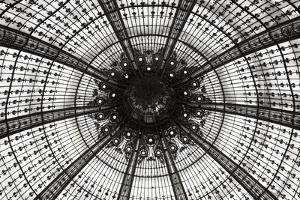 Galeries Lafayette III BW by Erin Berzel