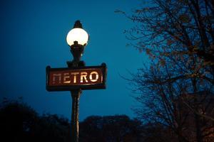 Paris Metro I by Erin Berzel