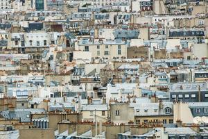 Paris Rooftops I by Erin Berzel