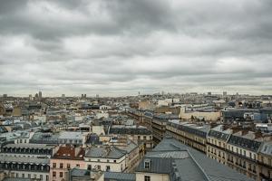Paris Rooftops III by Erin Berzel