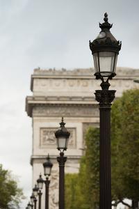Parisian Lightposts I by Erin Berzel