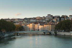 The Saone in Lyon I by Erin Berzel
