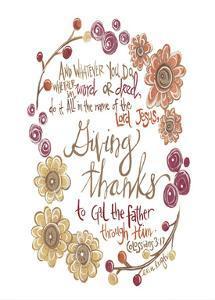 Colossians 3-17 by Erin Butson