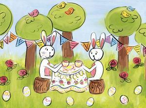 Easter Egg Tea by Erin Butson