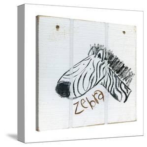 Happy Zebra by Erin Butson