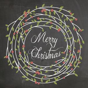 Christmas Chalk 3 by Erin Clark