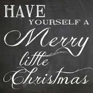 Christmas Chalk 6 by Erin Clark