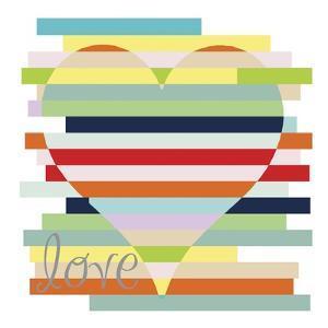 Heart Rainbow by Erin Clark
