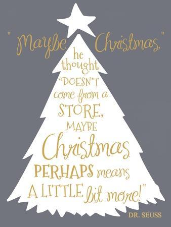 Maybe Christmas