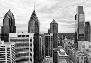 Philly Skyline by Erin Clark