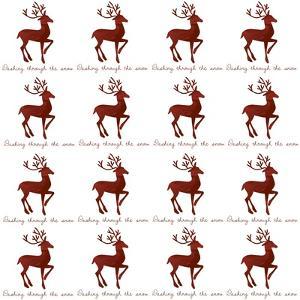 Reindeer Wrap by Erin Clark