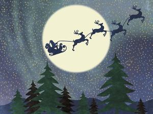 Santa Moon by Erin Clark
